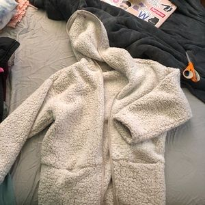 American Eagle Outfitters Sweaters - AE Sherpa sweater. Never worn.